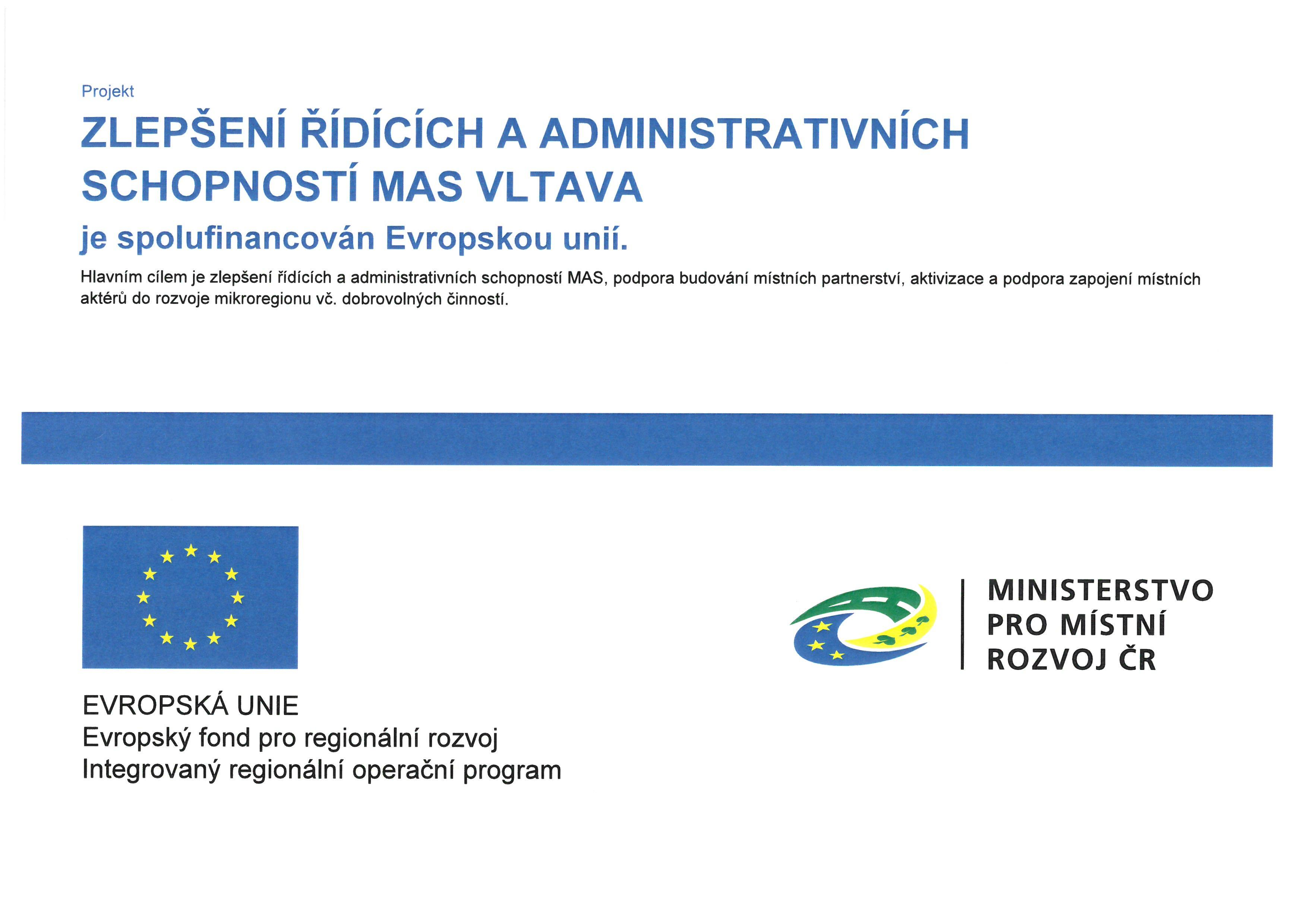 Zlepšení řídících a administrativních schopností MAS Vltava